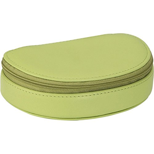 (Royce Leather Mini Jewelry Case - Key Lime Green)