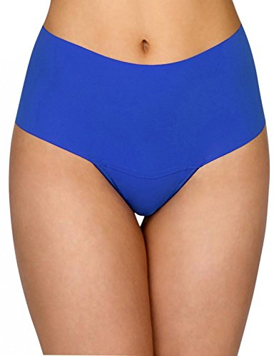 0bb2e02a796c Hanky Panky Bare Godiva High Rise Thong, S, Cobalt available in Oman ...