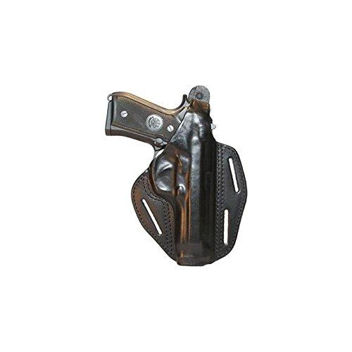 Blackhawk Leather Pancake Holster - BlackHawk® CQC™ 3 - Slot Pancake Holster Colt 45 Government, BLACK, RH