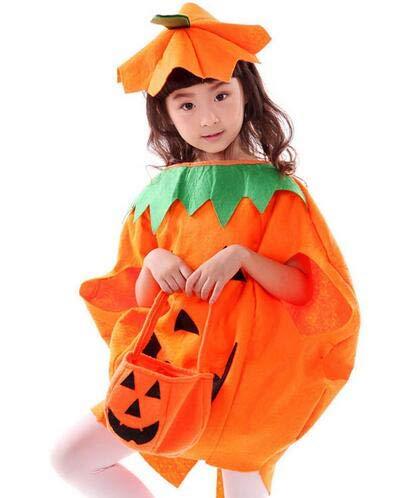 Amazon.com: Disfraz de calabaza para niños, disfraz de ...