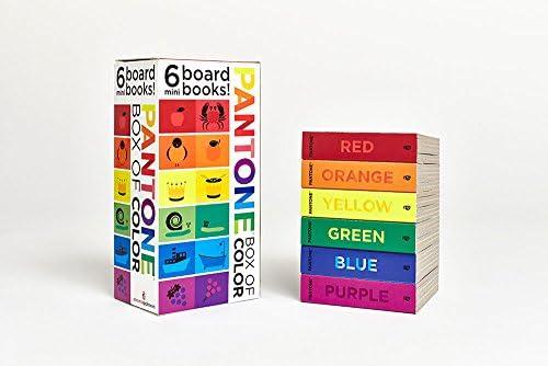 Pantone Box Of Color 6 Mini Board Books 9781419704192 Pantone Books Amazon Com