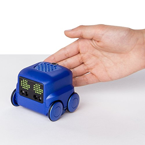 41ZA8ITslTL - Boxer - Interactive A.I. Robot Toy (Blue) with Personality and Emotions, for Ages 6 and Up