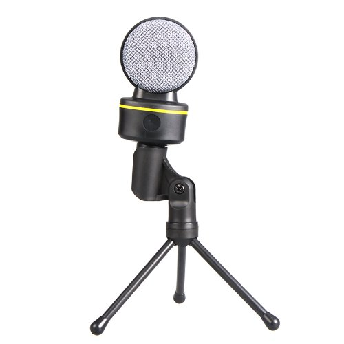 Kingzer New 3.5mm Wired Tripod Condenser Microphone Mic for Computer Skype MSN Karaoke from KINGZER