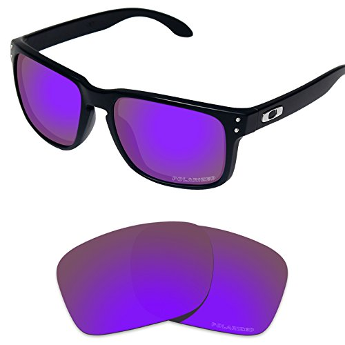 Tintart Performance Replacement Lenses for Oakley Holbrook Sunglass Polarized - Lenses Holbrook Oakley Purple