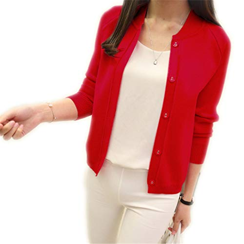 (Wool Sweater V Neck Can Not Buckle Cardigan Wild Female Small Shawl Jacket)