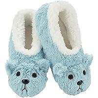 Slumbies! Womens Slippers - Indoor Slippers for Women - Comfortable House Slippers for Women - Fuzzy Slippers