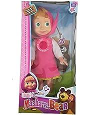 Masha and the Bear Pink Dress-Sound and Music-Big Doll