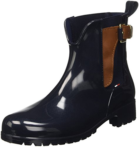 Tommy 4 Multicolour UK Midnight 403 Slouch Boots Hilfiger O1285xley Black Women's 2z2 7Tn07q6r