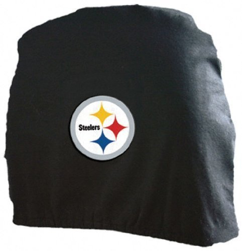pittsburgh steelers head rest covers steelers head rest covers steeler head rest covers. Black Bedroom Furniture Sets. Home Design Ideas