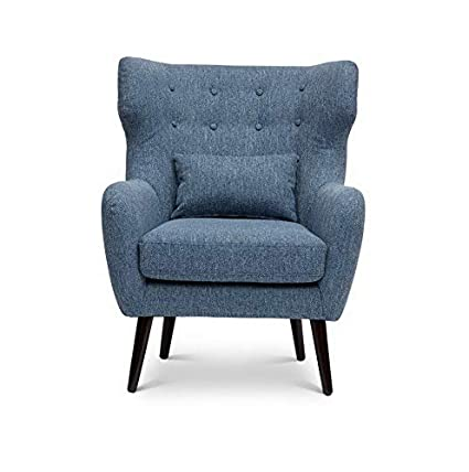 Amazon.com: Hebel Ava Mid Century Modern Accent Chair ...