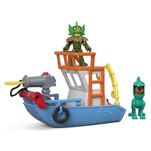 (Fisher-Price Imaginext Scooby-Doo Scooby & Ocean Boat)