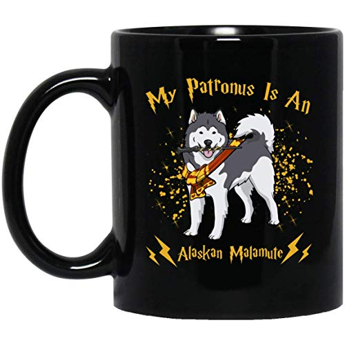My patronus is a Alaskan Malamute Dog Christmas Gift Mug - Ankhstore tshirt