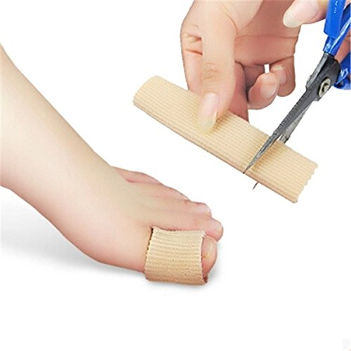 5 Pcs New Durable Gel Cap Finger Toe Blister Callouses Relief Tube Protector Small Foot Care Health Toe health