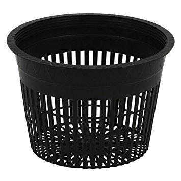 Net Pots 6 inch, Round Heavy Duty, 1 Dozen (Net Round Pot)