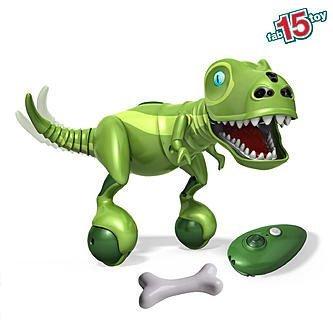 Zoomer Dino   Bonekruncher   K Mart Exclusive All Green Interactive Robotic Dinosaur