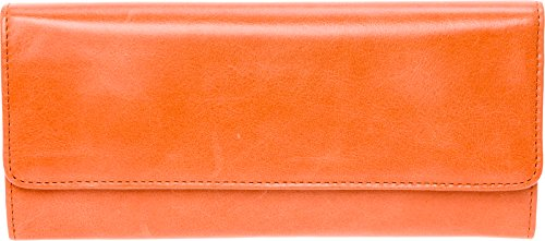 Hobo Womens Leather Wallet (Persimmon, One Size) by HOBO