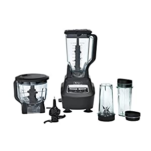 Ninja BL770 Mega Kitchen System and Blender with Total Crushing Pitcher, Food Processor Bowl, Dough Blade, To Go Cups…