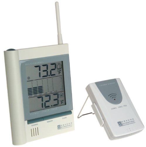 amazon com oregon scientific jtr168lr cable free long range rh amazon com Oregon Scientific Clock Manual Oregon Scientific Indoor Outdoor Thermometer