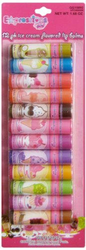 Expressions Girls Lip Balms, Ice Cream