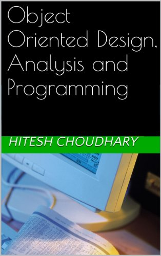 Download Object Oriented Design, Analysis and Programming Pdf