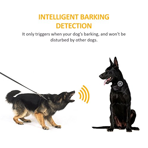 No-Bark-Collar-2017-New-Version-Rechargeable-Anti-Bark-Collar-No-Harm-Shock-Dog-Control-7-Adjustable-Sensitivity-and-Intensity-Levels-Bark-Training-Collar-with-Reflective-Strap-for-All-Sizes-Dogs