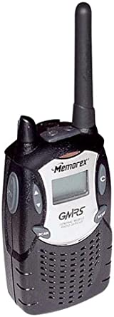 Memorex MK1995 5-Mile 15-Channel FRS GMRS Two-Way Radio