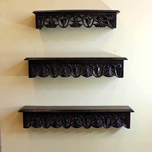 KRAFTLYTOUCH Mounted Wooden Wall Shelf  Standard, 28