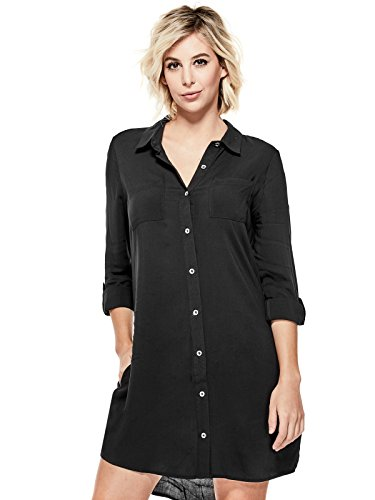 GUESS Factory Women's Taryn Button-Front Shirtdress ()