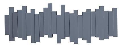 Umbra – Perchero Gris Azulado con múltiples colgadores ...