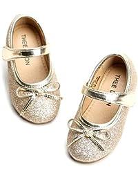 Girl's Toddler/Little Kid Ballet Mary Jane Flat Shoes