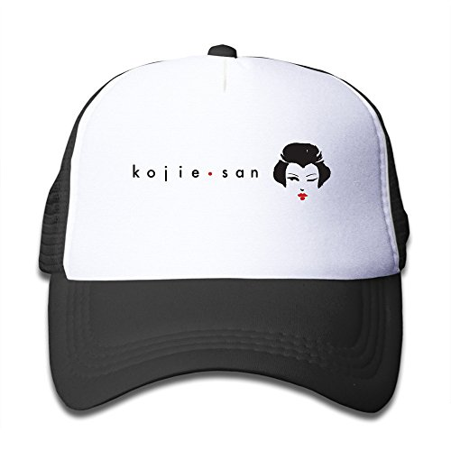 KEIOPO Youth Japanese Geisha Adjustable Mesh Trucker Caps Hats