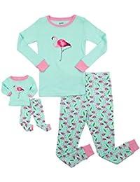 Kids   Toddler Pajamas Matching Doll   Girls Pajamas 100% Cotton 2 Piece Pjs  Set de83b187c