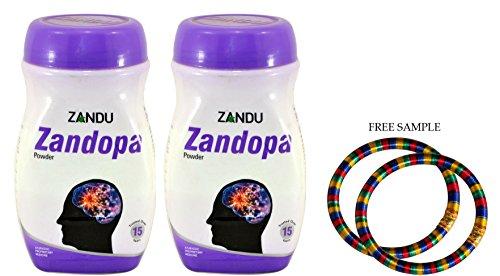Zandu Zandopa Powder - 200g - Pack of 2 - with Free Product Sample