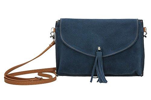 18BL2150A ANTHER Sac pour bandoulière bleu Bleu femme ZzwpzAq