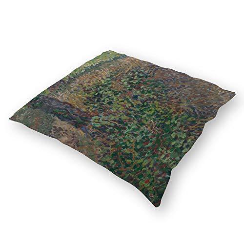 Double Sided Print 45×45cm Throw Pillow Covers Cases for Home Bedding Sofa Decoration Birds Underwood Van Gogh Landscape Hidden Zipper Closure Plush Fabrics Pillowcase