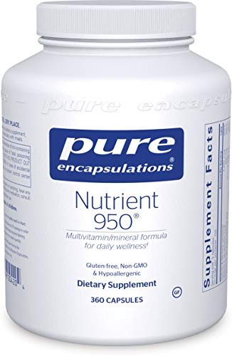Pure Encapsulations – Nutrient 950 – Hypoallergenic Multi-vitamin/Mineral Formula for Optimal Health* – 360 Capsules For Sale