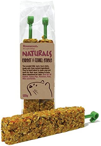1 Pack 5.2Oz Healthy Treat For Small Animals Rosewood Pet Dandelion Sticks