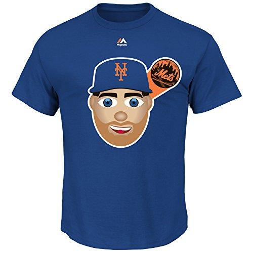 Matt Harvey New York Mets #33 MLB Men's Emoji Player T-shirt (Small)