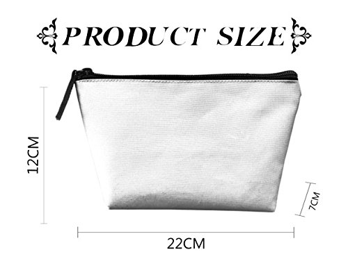 My People Skills Are Fine Cosmetic Bag Handbag/Wrist Bag/Clutch Bag/Cell Phone Bag/ Ladies Purse by A65sa Cosmetic Bags (Image #3)