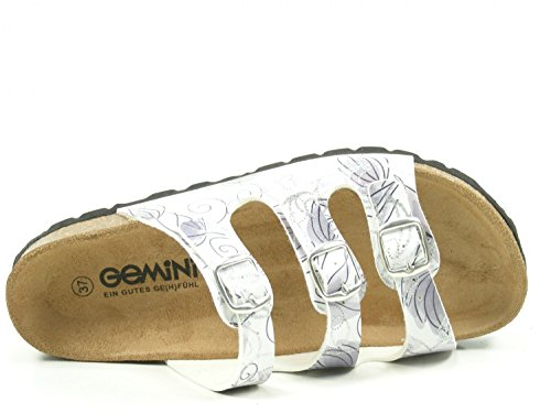 Zoccoli 8317 88 Donna Bios Gemini bianco qz8aUw