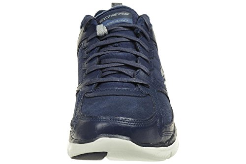 Skechers Flex Appeal 2.0 Soft Damen Gefütterte Sneaker Winter Warm Blau Nvy