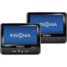 "Insignia Portable DVD Player with 9"" Dual TFT-LCD 