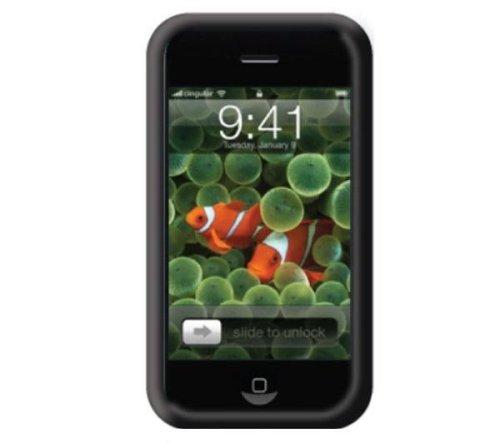 Belkin F8Z354ea Housse Silicone pour iPhone 3G Noir