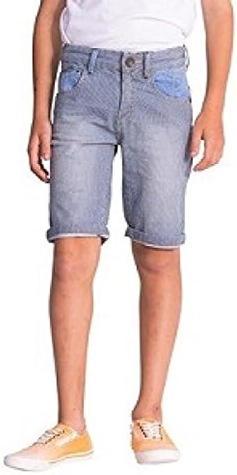 13//14 Desigual Boys Denim Shorts Turquesa