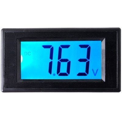 - SMAKN® AC/DC Powered 4 Wire DC 0-20V(19.99V) LCD Panel Volt Meter Voltmeter