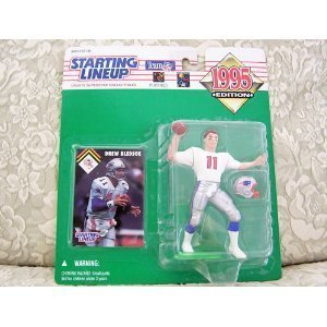 1995 NFL Starting Lineup - Drew Bledsoe - New England Patriots by (Starting Lineup)