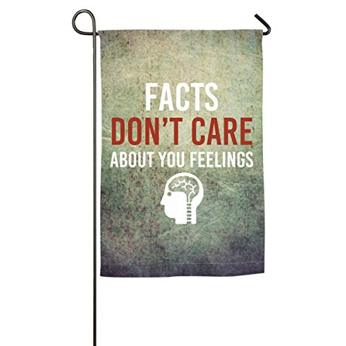 (House Flag Facts Don't Care About Your Feelings Inspirational Translucent Polyester Service Flag)