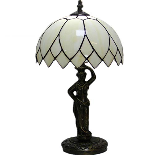 WSGCC Tiffany Eye Reading Table lamp, European Tiffany Creative Table lamp Eye Bed Bedroom Wedding Hall Living Room Study Room bar Cafe Decoration Table lamp