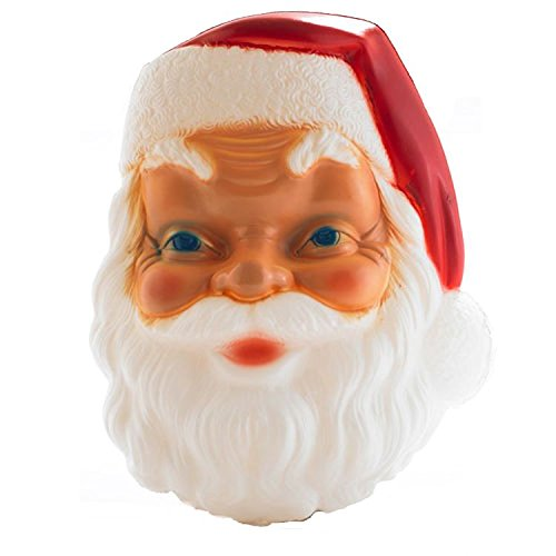 Inch Santa Face Lighted Plastic product image
