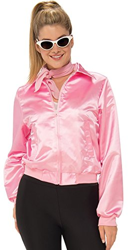 Rubie's Costume Co. Women's Grease, Pink Ladies Costume Jacket, As Shown, Standard (Grease The Movie Costumes)